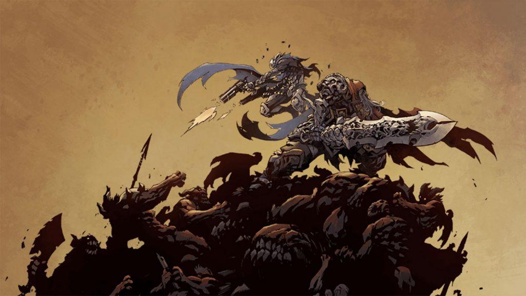 darksiders genesis war strife concept art