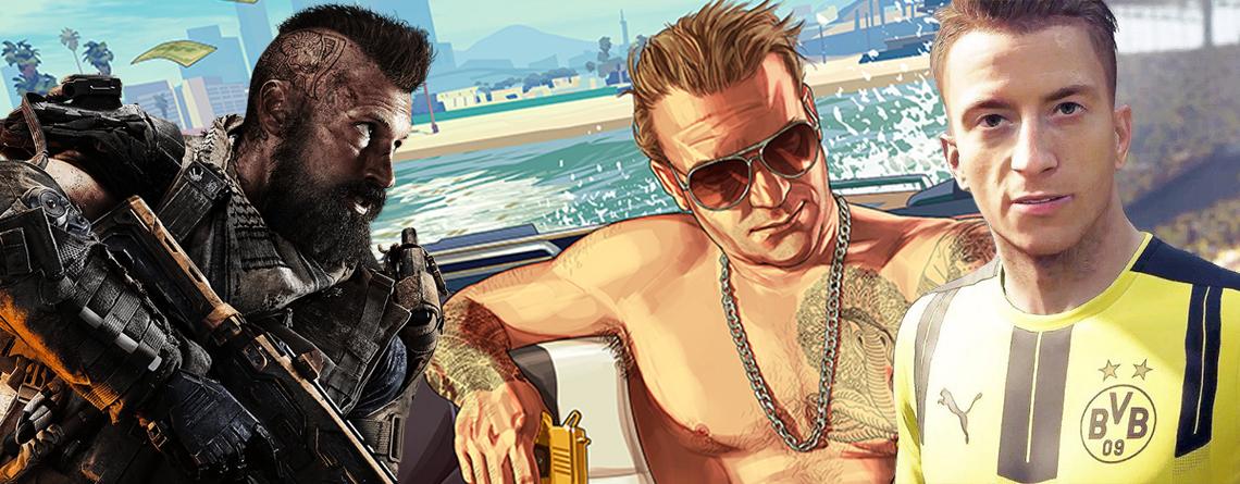 Die 5 aktuell erfolgreichsten Spiele der Welt auf PS4, Xbox One und Switch