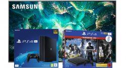 UHD-TVs von Samsung und PS4-Konsolen bei Amazon vergünstigt im Angebot