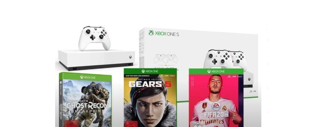 Xbox One X und S mit FIFA 20 und weiteren Spielen günstiger bei Amazon