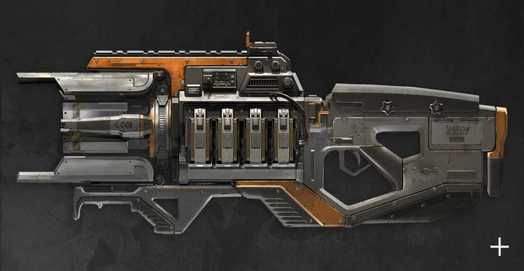 Apex Legends Charge Rifle Offiziell 2