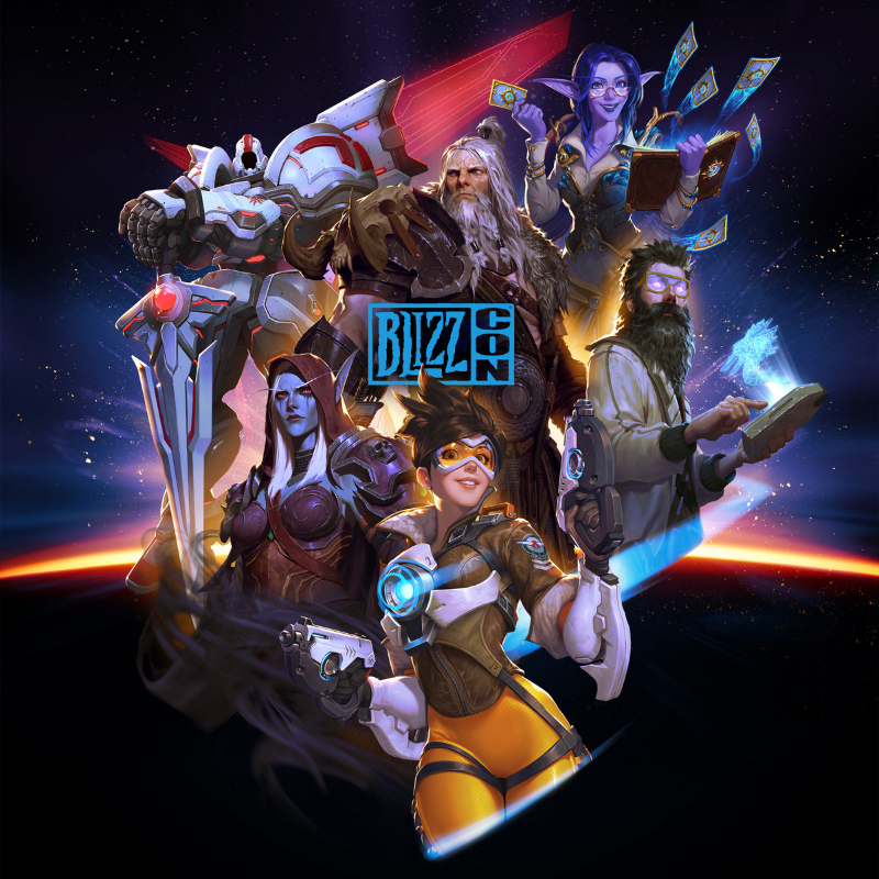 Blizzard BlizzCon 2019 Key Art