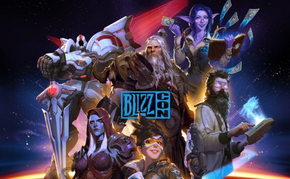 Blizzard BlizzCon 2019 Key Art Titel