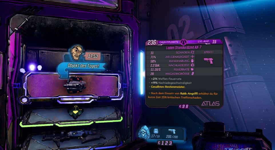 Borderlands 3 Veteranen-Waffen