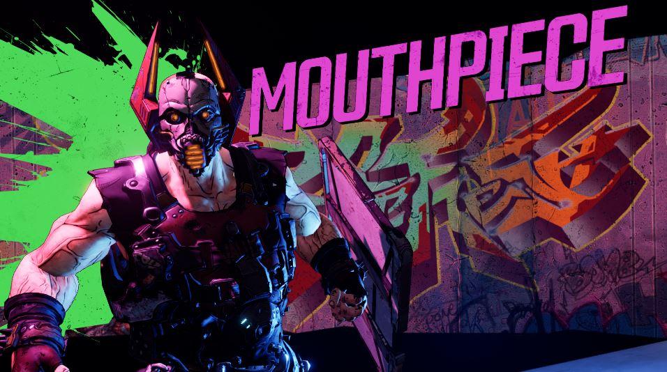Borderlands 3 Mouthpiece