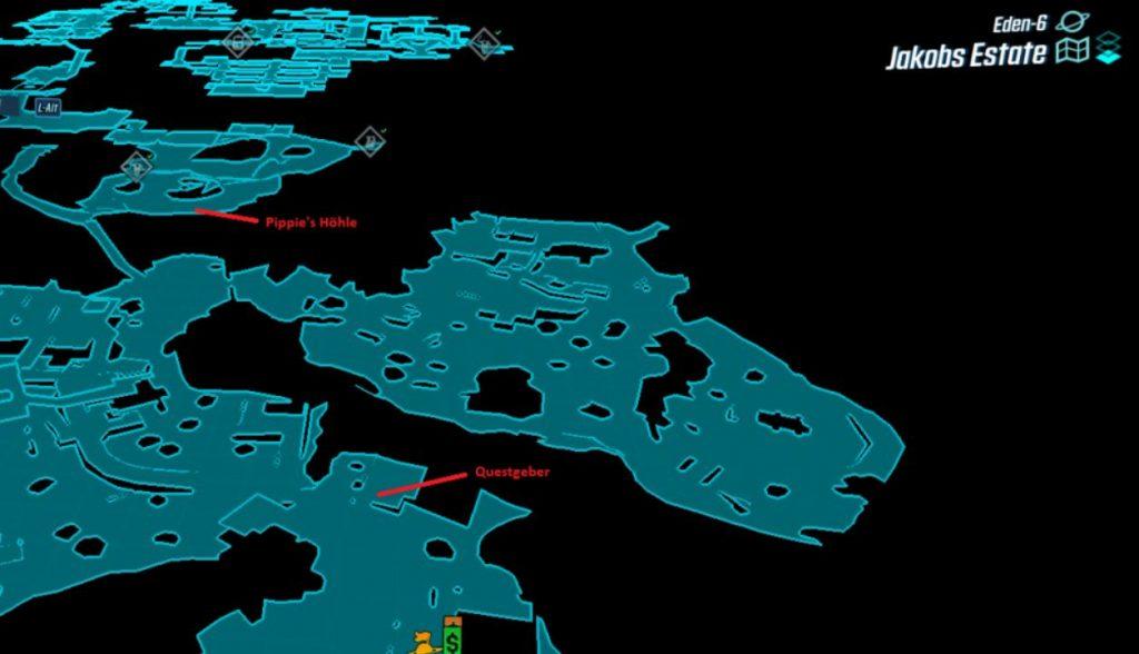 Borderlands 3 Karte von Eden-6