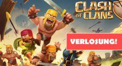 clash of clans verlosung header