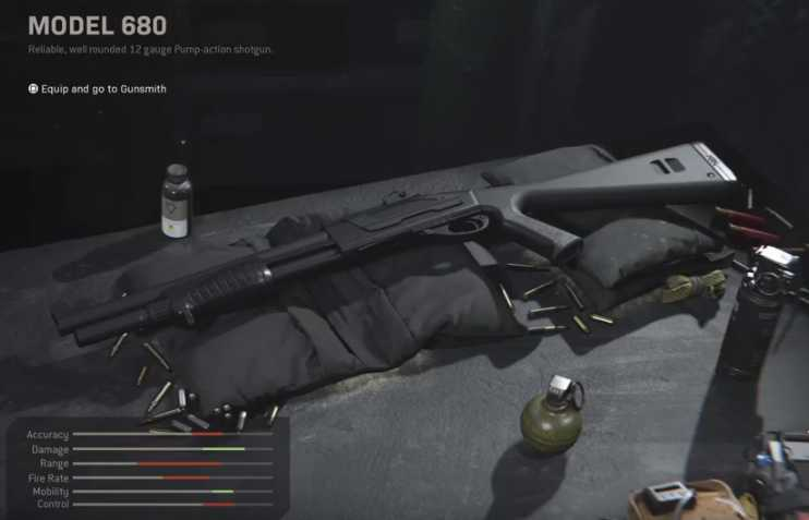 Call of Duty Modern Warfare Model 680