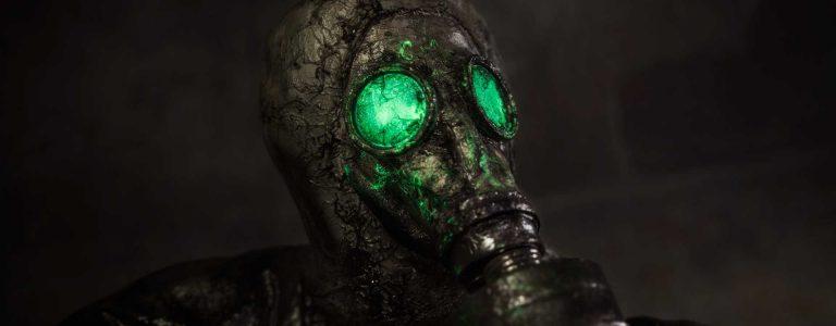 Chernobylite Maske Titel