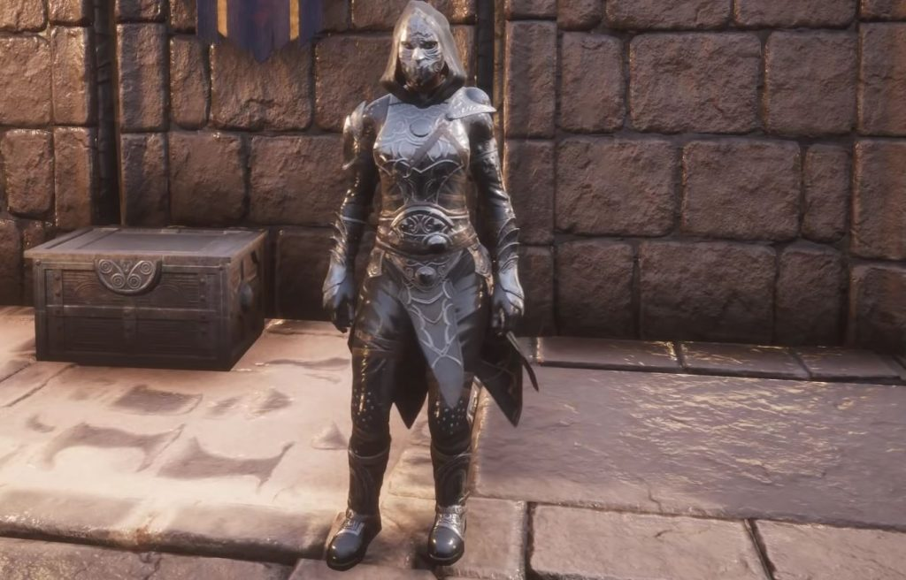 Conan Exiles Blood and Sand Assassin Armor light