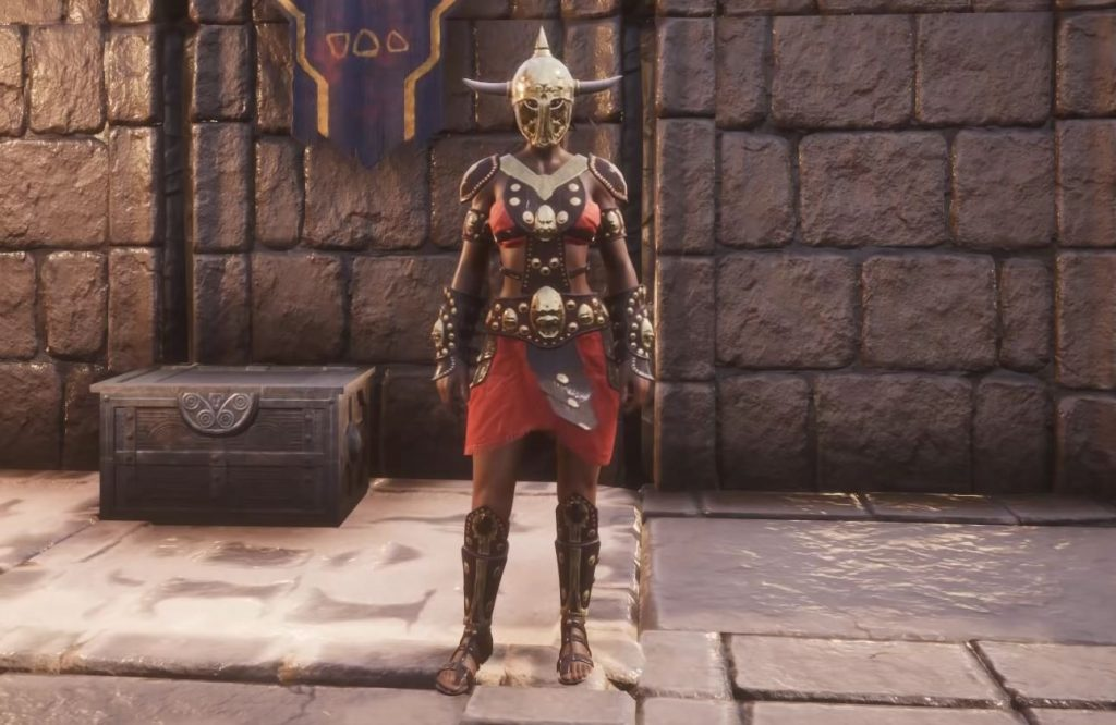 Conan Exiles Blood and Sand Barbarians Outfit