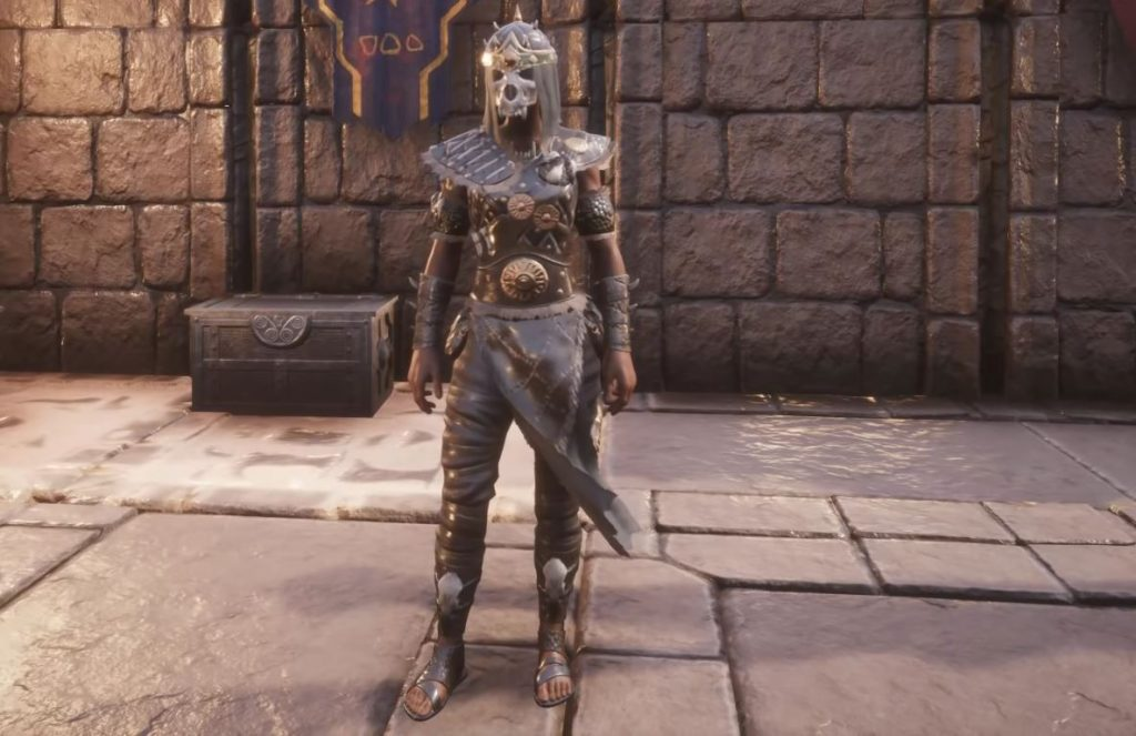 Conan Exiles Blood and Sand Bone Shaman Medium