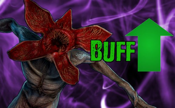Dead by Daylight Demogorgon Buff title 1140×445