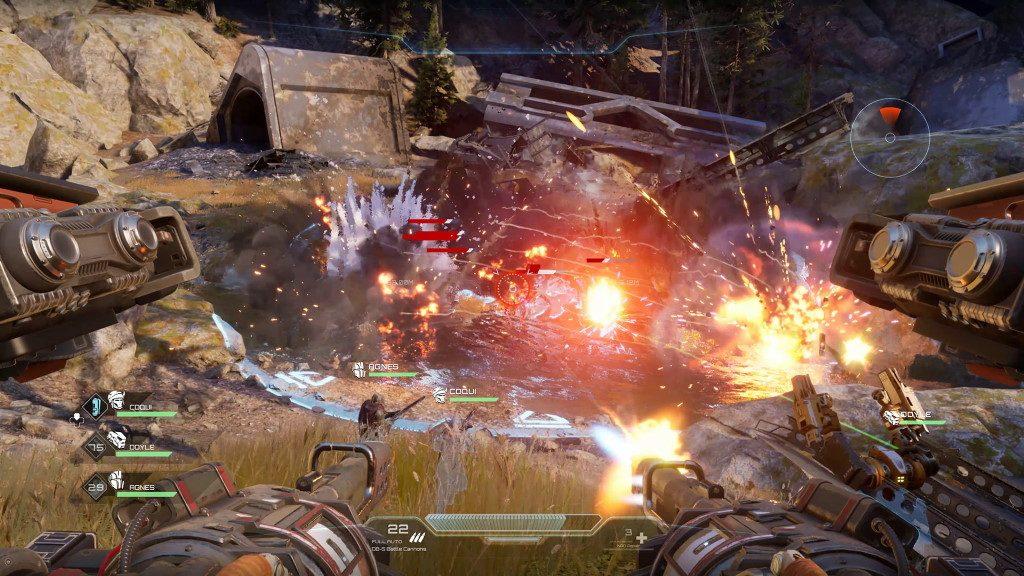 Disintegration Kampf Screenshot