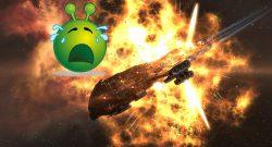 EVE Online Explosion