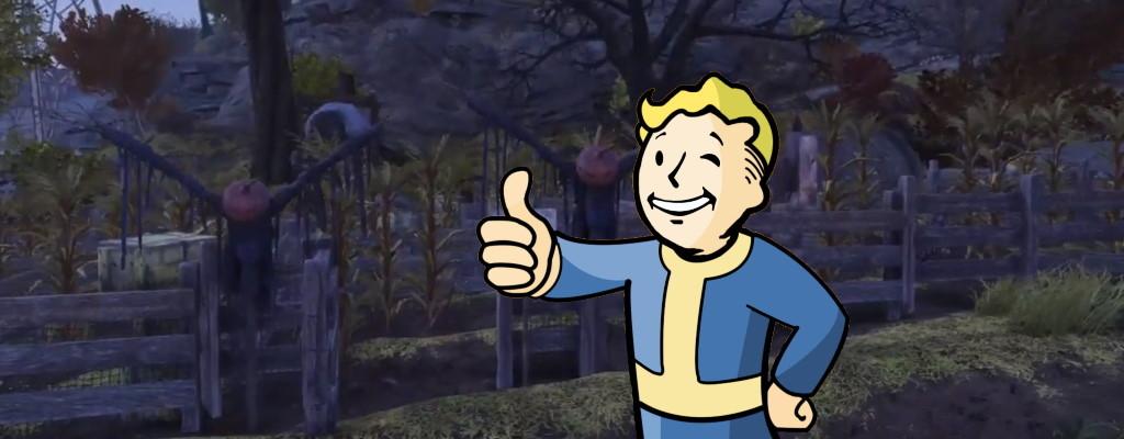 Spieler baut Maisfeld-Labyrinth in Fallout 76 und die Leute lieben es