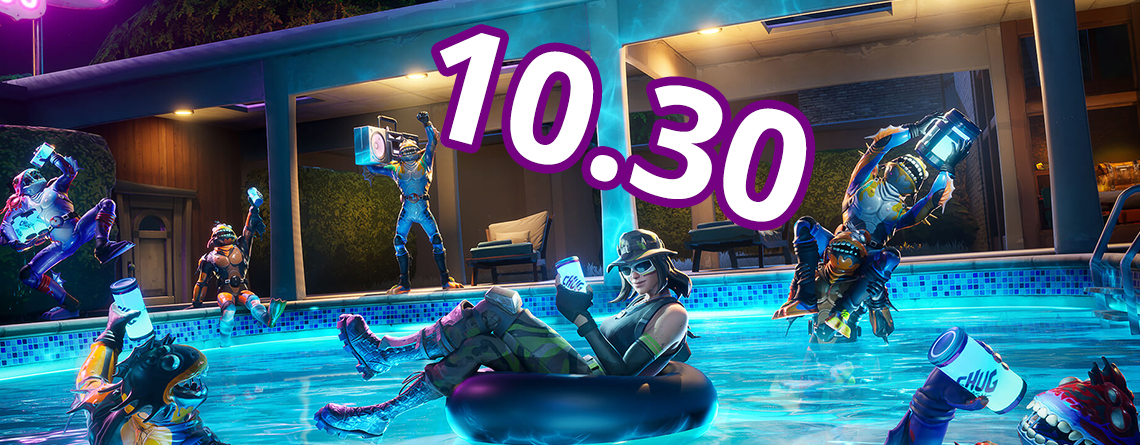 Fortnite: Update 10.30 bringt Moisty Palms und Greasy Grove – Patch Notes