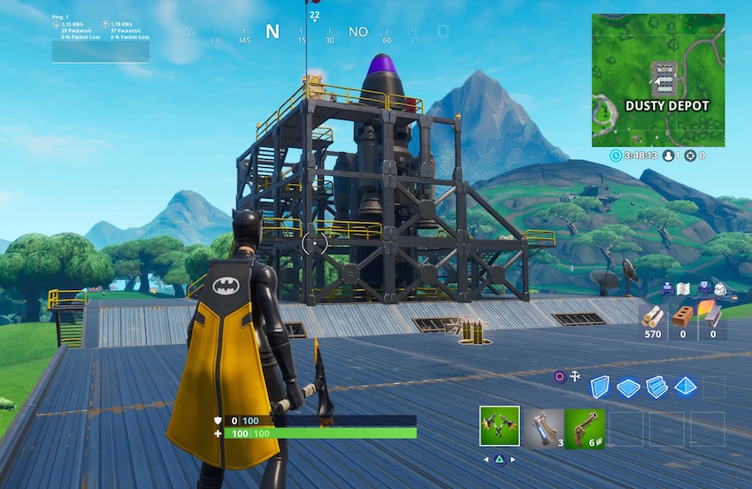 Fortnite-Dusty-Depot-Rakete-fertig