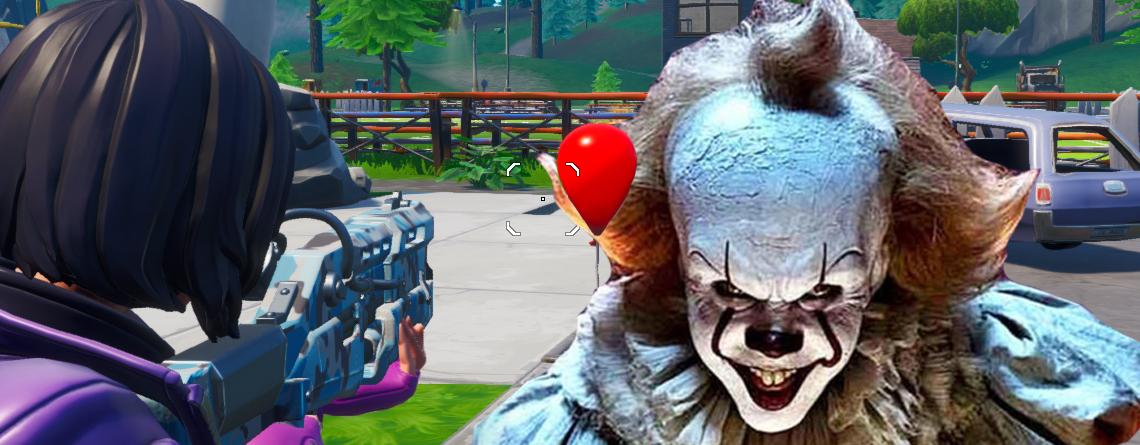 """Nun tauchen rote Ballons in Fortnite auf – Startet Event mit Horror-Film """"Es 2""""?"""