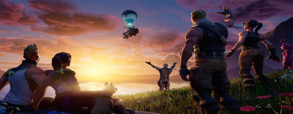 Fortnite Geleakter Ladebildschirm Season 11