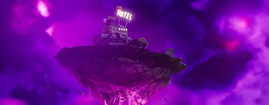 Fortnite Insel mit Motel Zoom
