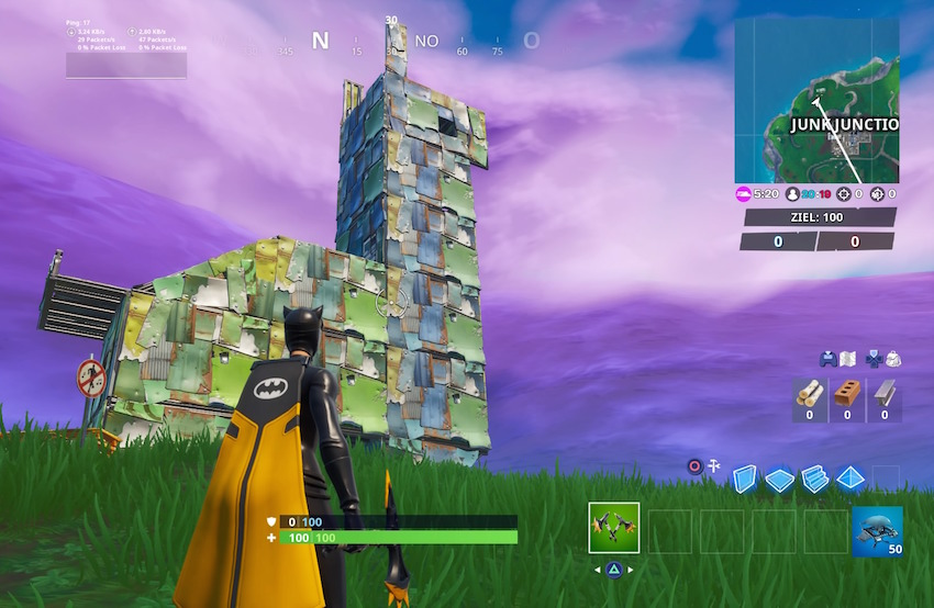 Fortnite-Lama-aus-Metall