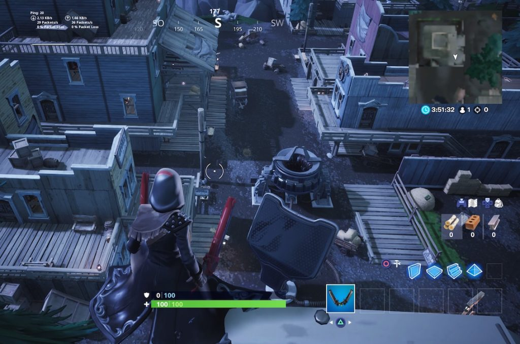 Fortnite Rift Beacon Tilted Town