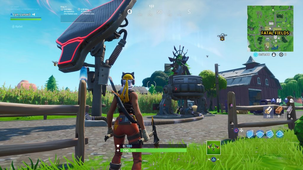 Fortnite Risszone Fatal Fields