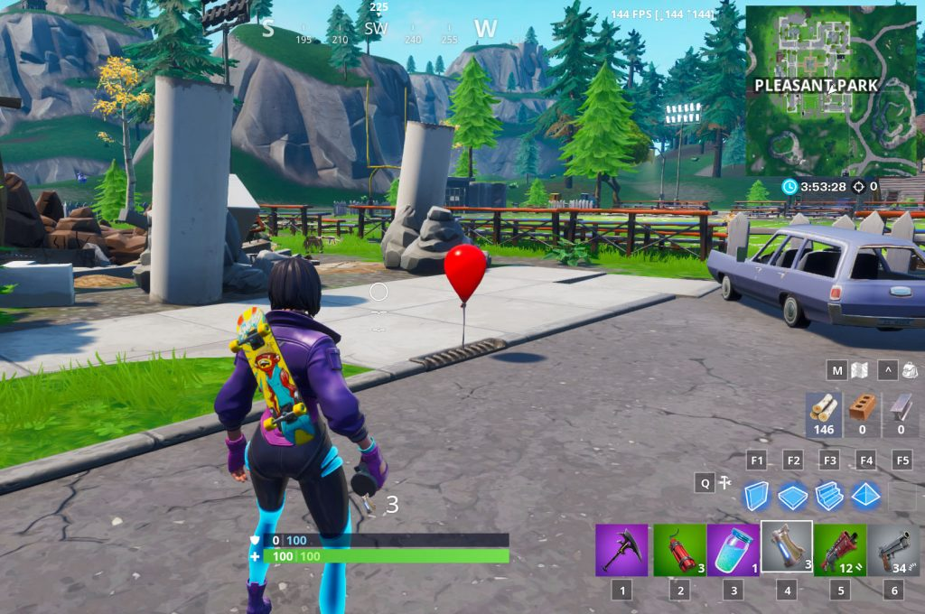 Fortnite Roter Ballon Es