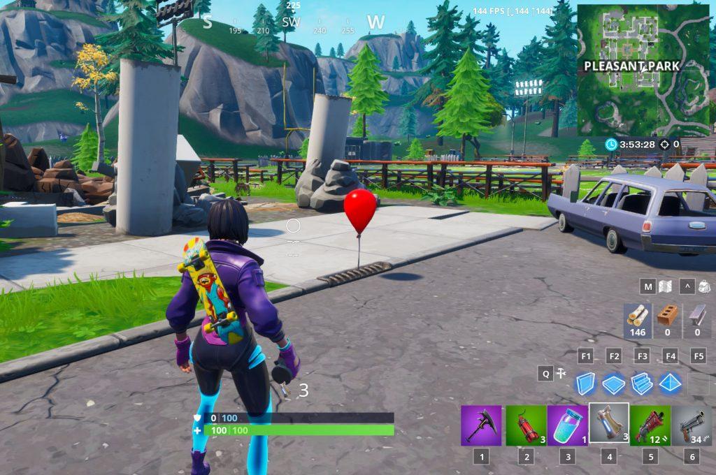 Fortnite Roter Ballon Es
