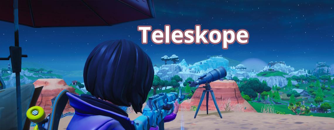 Fortnite: Teleskop finden – Alle 7 Fundorte zum Tanzen