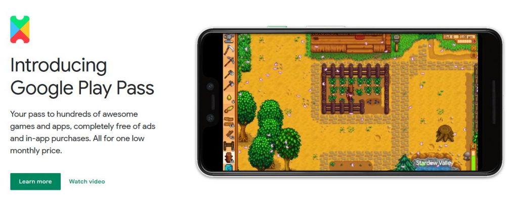 Google Play Pass - Spiele
