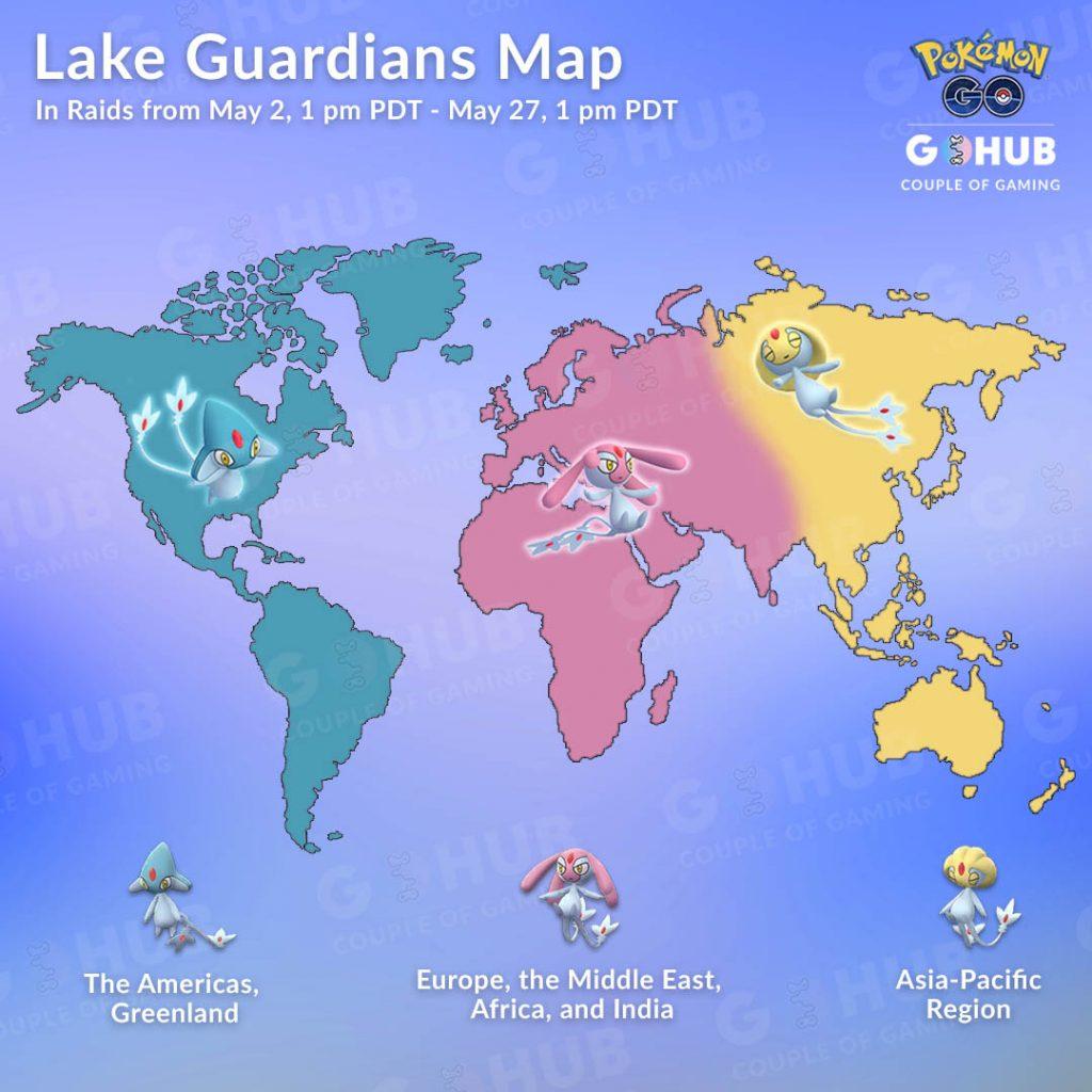 Map Seen Trio