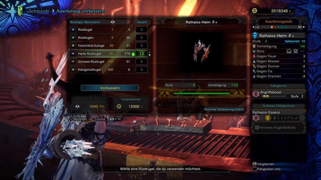 Monster Hunter World Iceborne Rüstung verbessern