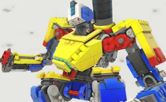 Overwatch Lego Bastion Baustion Titel
