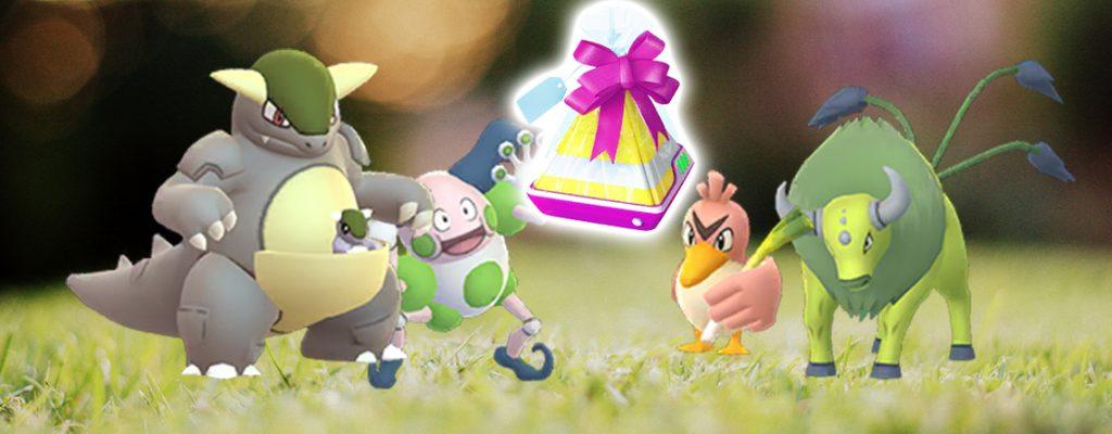 Pokémon GO Kanto Regional Titel