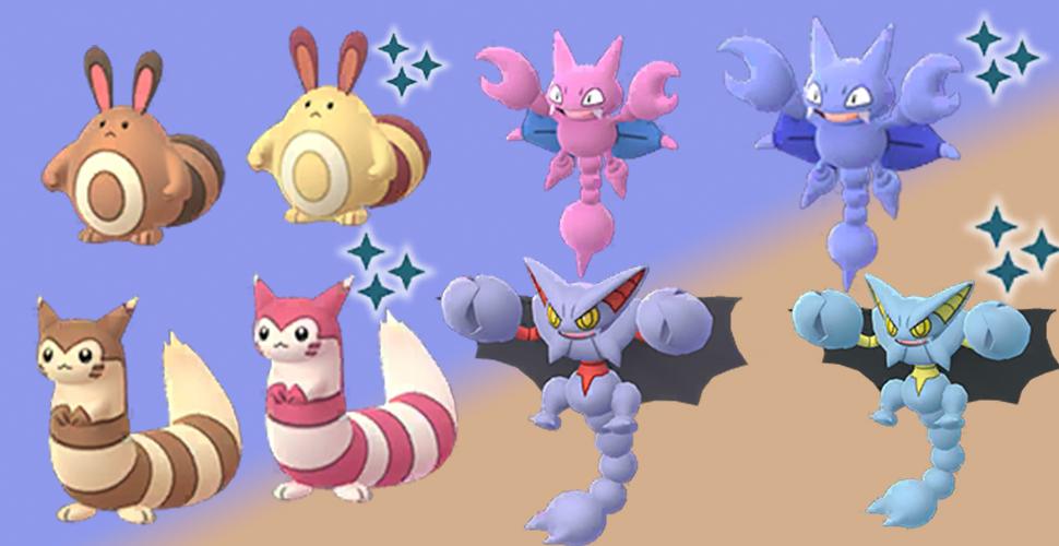 Pokémon GO Shiny Wiesor Skorgla