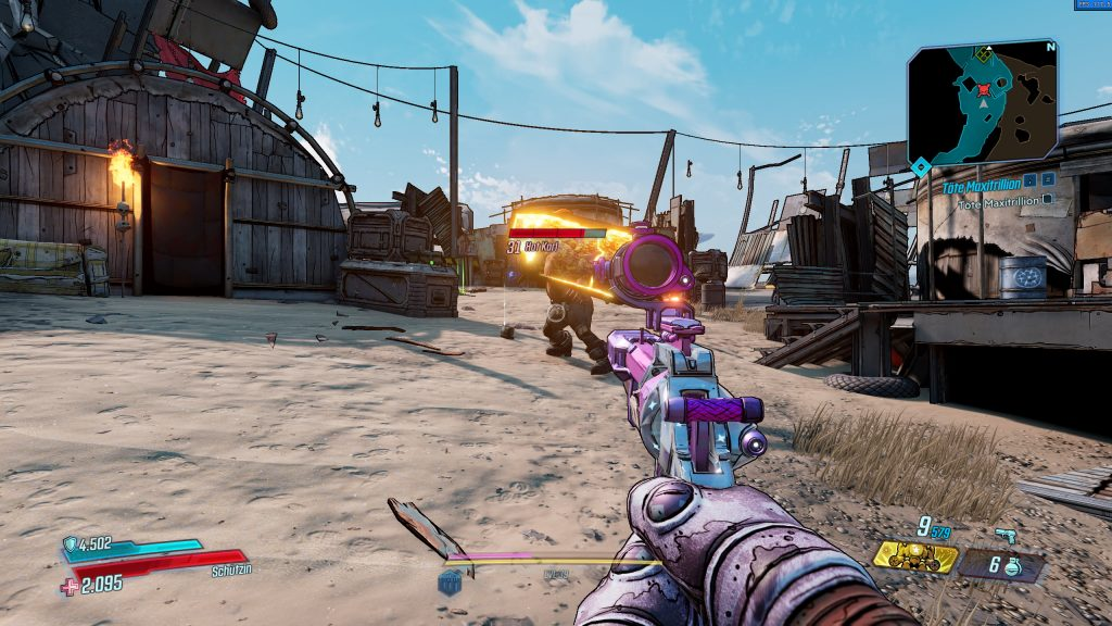Borderlands 3 Hot Karl Gelegenheitsziel Zer0