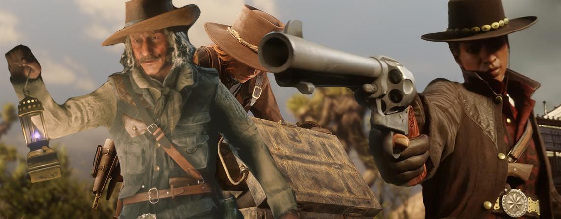 Red Dead Online Update: Spielt ab sofort als Händler, Sammler oder Kopfgeldjäger