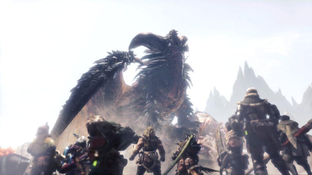 Monster Hunter World Iceborne Ruinen-Nergigante