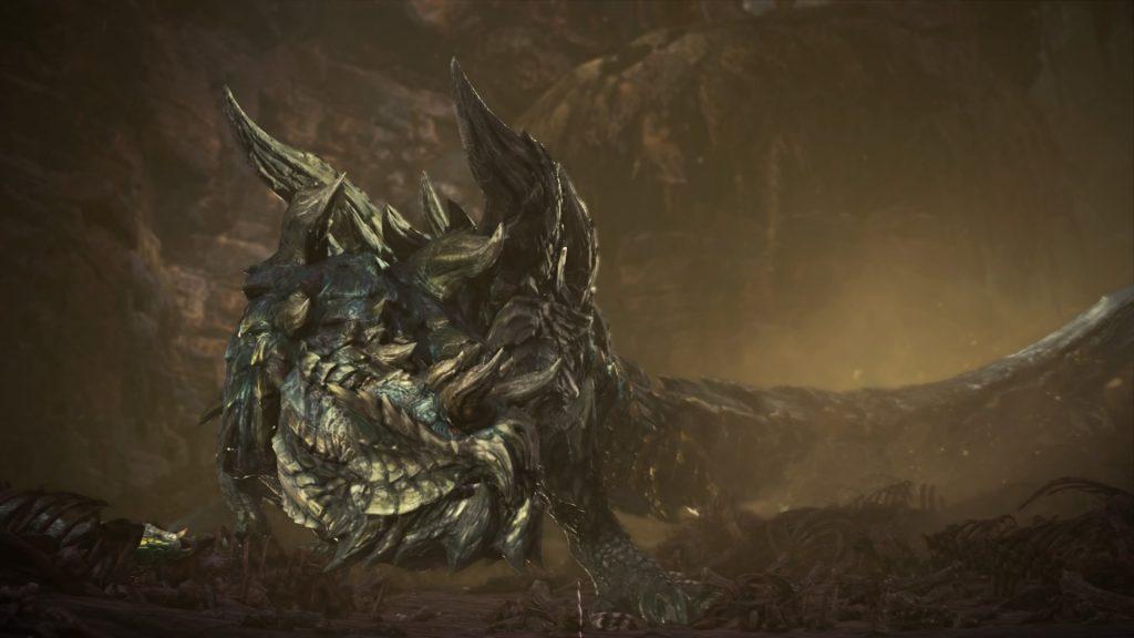 Monster Hunter World Iceborne Säure-Glavenus