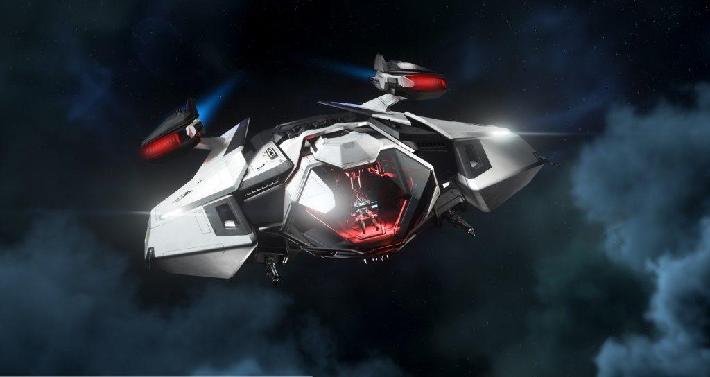 Star Citizen Mantis Screenshot vorne