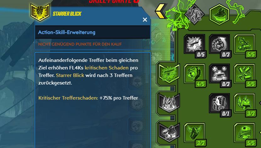 Borderlands 3 FL4K Action-Skill Crit-Build