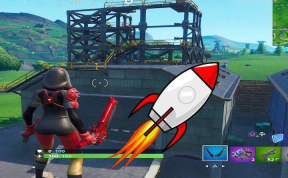 Titelbild Raketenstart