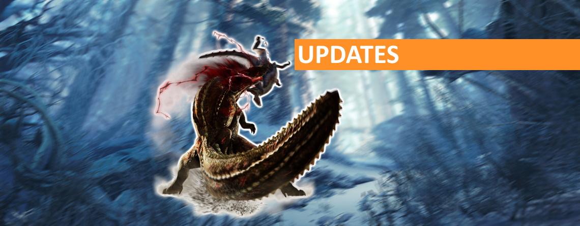 Monster Hunter World: Iceborne zeigt Roadmap für kostenlose Updates bis 2020