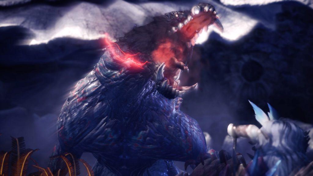 Monster Hunter World Iceborne Vulkan-Odogaron