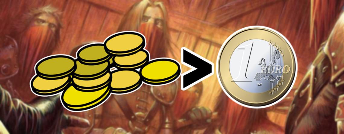 Gold in WoW Classic ist im Moment mehr wert als der Euro