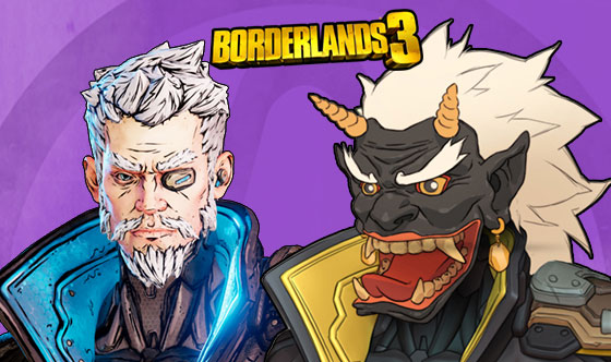 Borderlands 3 Zane Skins