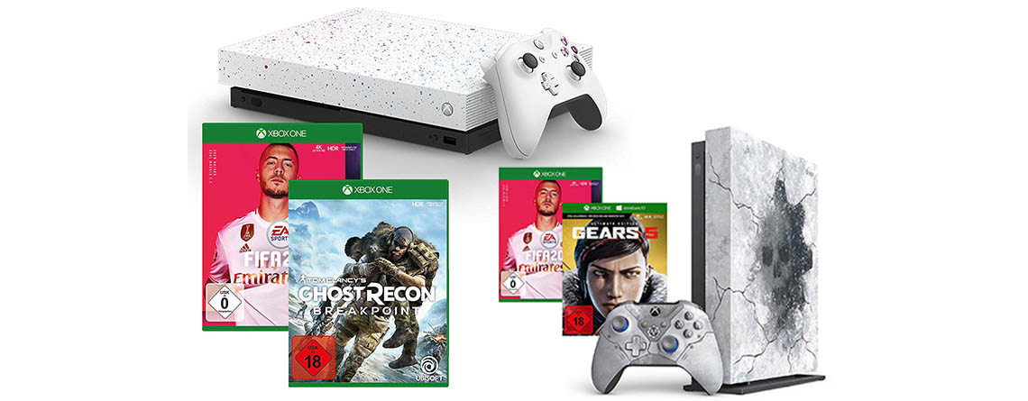 Amazon Angebote: Xbox One X Hyperspace Edition im Bundle stark reduziert