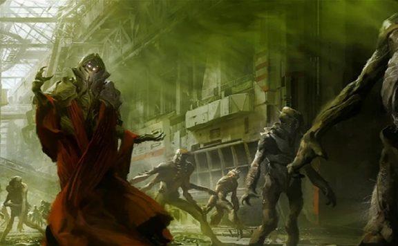 destiny 2 schar concept gruselig